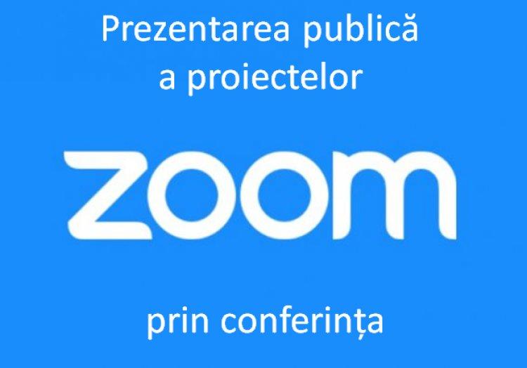 Prezentarea publică on-line a proiectelor ce urmează a fi implementate în sectorul Botanica în anii 2021-2022.