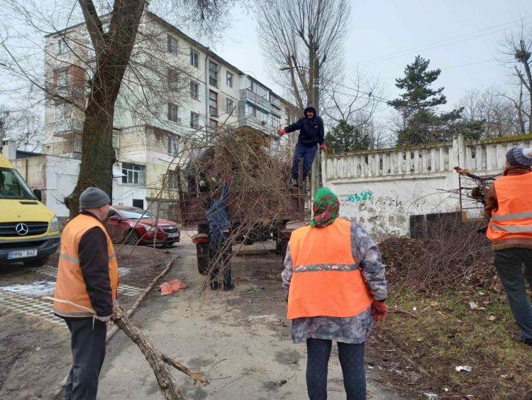 Lucrări din domeniul locativ - comunal din sectorul Botanica (22.03 - 26.03.2021 )