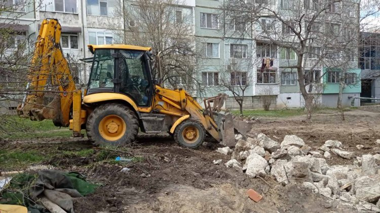 Lucrările de demontare și evacuare din sectorul Botanica