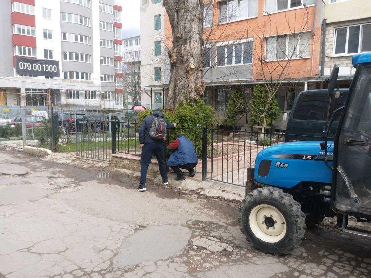 Lucrări de demontare și evacuare a îngrădirilor și dispozitivelor neautorizate