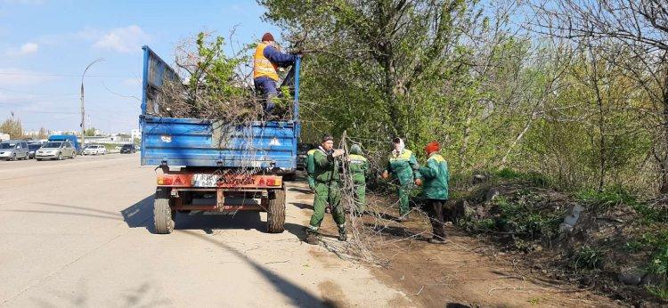 Curățenia generală de primăvară în sectorul Botanica