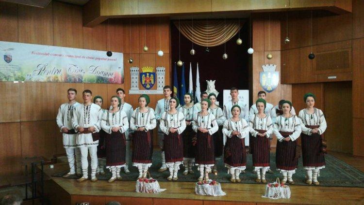 """Festivalul – concurs municipal de cîntec popular pascal """"Pentru Tine, Doamne"""", ediția a XXIII-a"""