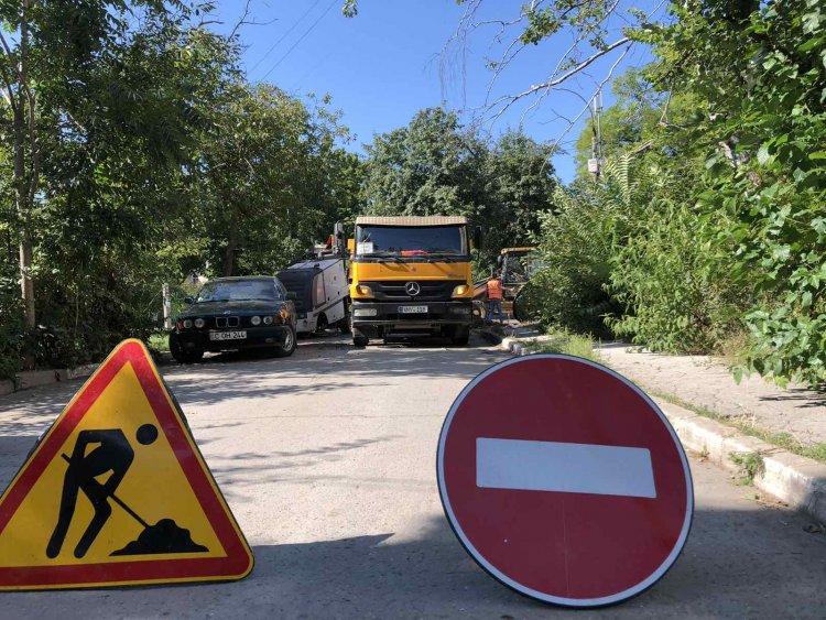 """Mersul lucrărilor din cadrul proiectului """"Curtea confortabilă"""", cartierul """"Aerport"""" (20.08.2021)"""
