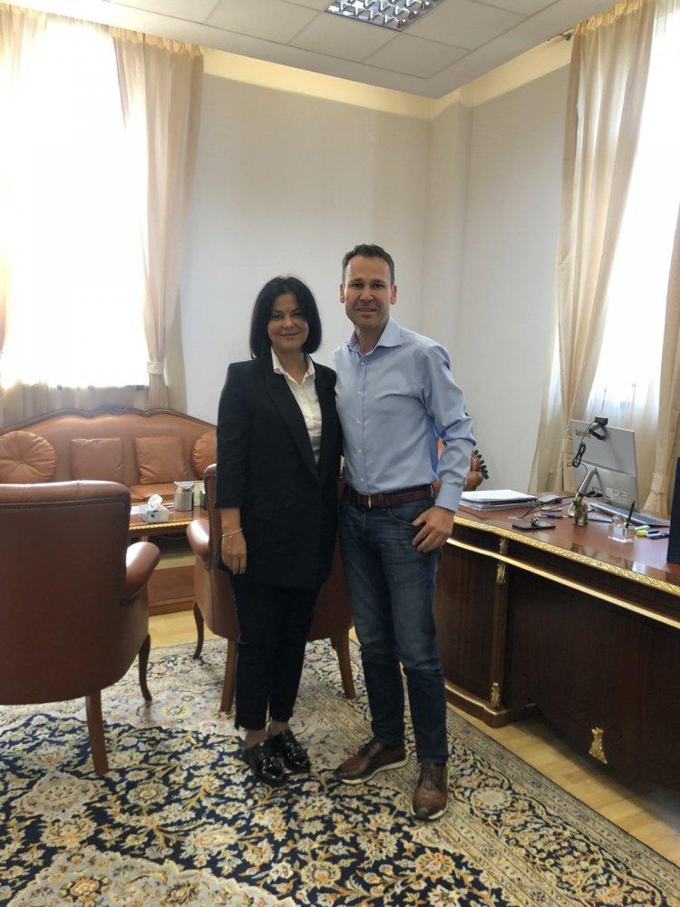 Între Pretura sectorului Botanica și Primăria Sectorului 3 București au fost Inițiate relații de colaborare