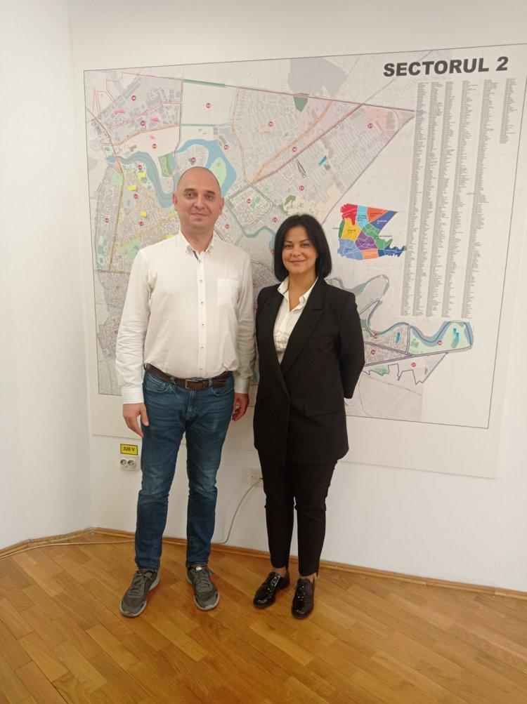 Vizită de lucru la Primăria Sectorului 2 București